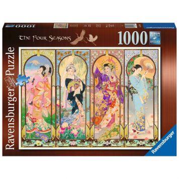 Puzzel De Vier Seizoenen 1000 Stukjes
