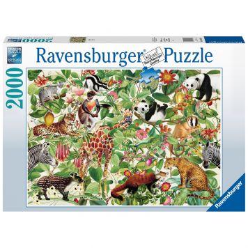 Puzzel Jungle 1000 Stukjes