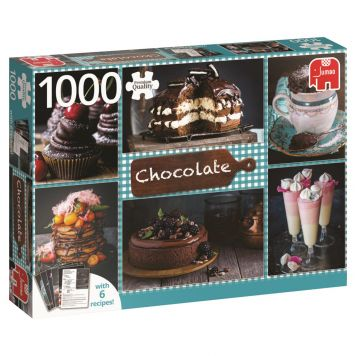 Puzzel Chocolate + 6 Recipes 1000 Stukjes