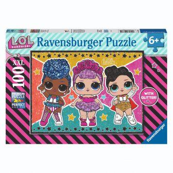 Ravensburger Puzzel L.O.L Suprise Glitter 100 XXL