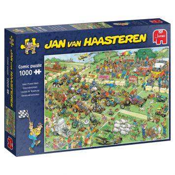 Jan Van Haasteren Puzzel Grasmaaier race 1000st