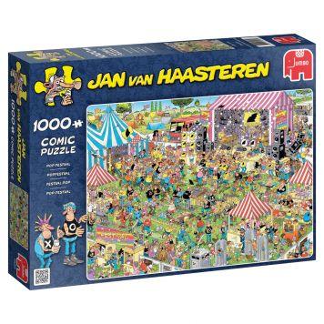 Jan Van Haasteren Puzzel Popfestival 1000 Stukjes