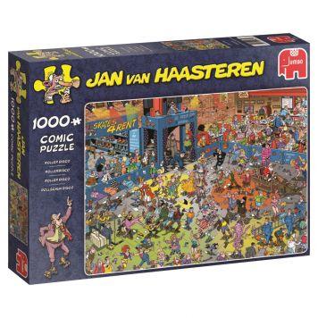 Puzzel Jan Van Haasteren Rollerdisco 1000  Stukjes