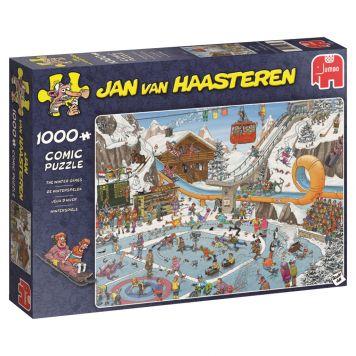 Jan Van Haasteren Puzzel De Winterspelen  1000 stukjes