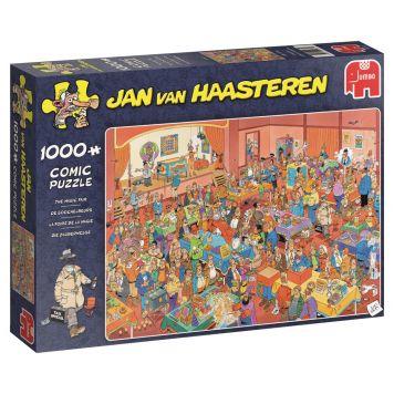 Jan Van Haasteren Puzzel De Goochelbeurs  1000 Stukjes