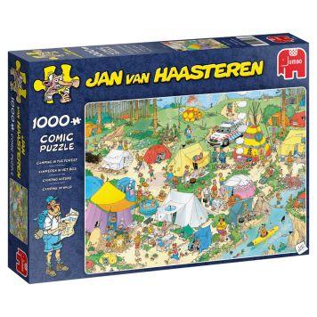 Jan Van Haasteren Puzzel Kamperen In Het Bos  1000 Stukjes
