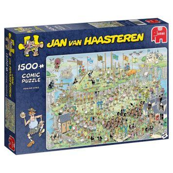 Puzzel Jan Van Haasteren Highland Games  1500 Stukjes
