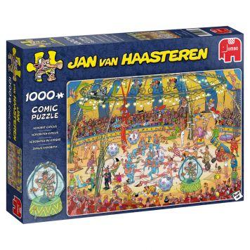 Puzzel Jan Van Haasteren Acrobaten Circus  1000 Stukjes