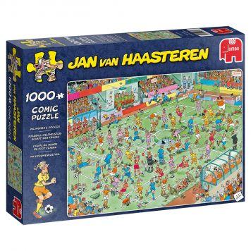 Puzzel Jan Van Haasteren Vrouwenvoetbal  1000 Stukjes