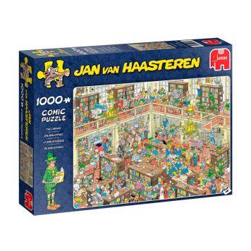 Puzzel Jan Van Haasteren De Bibliotheek 1000 Stukjes