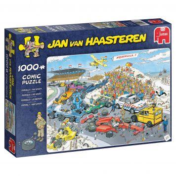 Jan Van Haasteren Puzzel Formule 1 De Start 1000 Stukjes