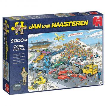 Puzzel Jan Van Haasteren  Formule 1 De Start  2000 Stukjes