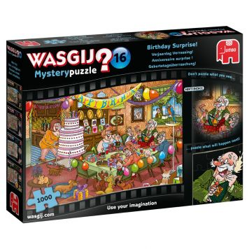 Wasgij Mystery Puzzel 16 Verjaardag Verrassing  1000 Stukjes