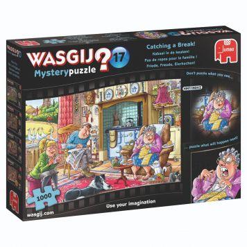 Wasgij Mystery Puzzel 17 Kabaal In De Keuken