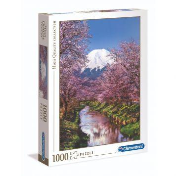 Puzzel High Quality 1000 Stukjes De Berg Fuji Clementoni