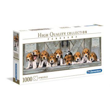 Puzzel Beagles Panorama 1000 Stukjes