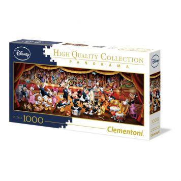Puzzel Panorama 1000 Stukjes Disney Orkest Clementoni