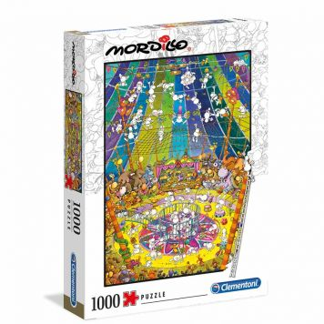 Puzzel Mordillo 1000 Stuks The Show