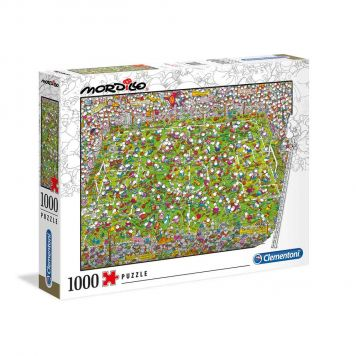 Puzzel Mordillo 1000 Stuks The Match