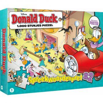 Puzzel Donald Duck Spreekwoordenpret #2 1000 Stuks