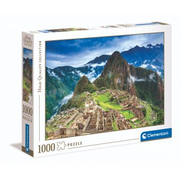 Puzzel High Quality 1000 Stukjes Machu Picchu Clementoni