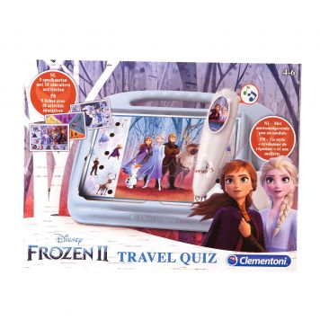 Travel Quiz Frozen 2 Clementoni