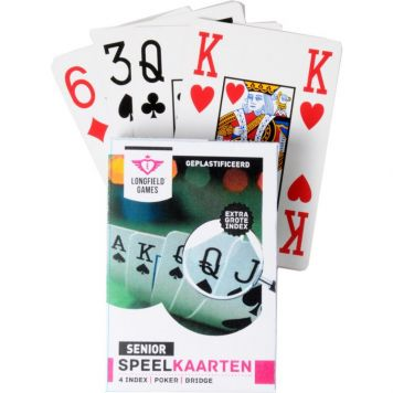 Speelkaarten Senior Extra Groot - Kaartspel