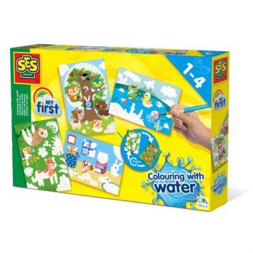 SES Kleuren Met Verborgen Water Dieren