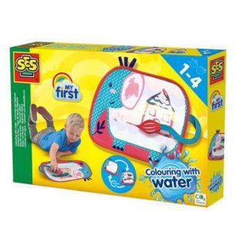 SES Kleuren Met Water Kleurmat Olifant