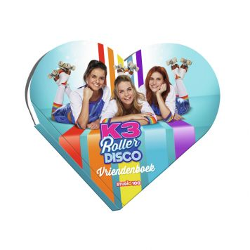 K3 Vriendenboek Roller Disco