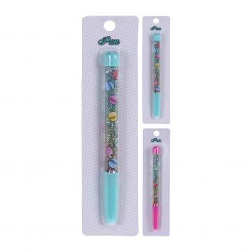 Pen Met Glitters 2 Assorti