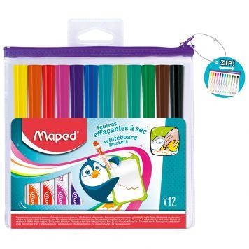 Stiften Whiteboard 12 Kleuren