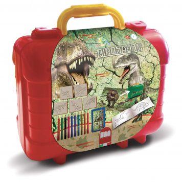 Kofferset Kleuren En Stempelen Dino