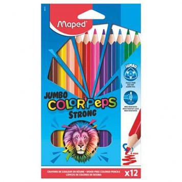 Kleurpotloden Jumbo 12x In Doos