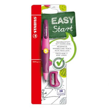 Stabilo Easy Ergo Links Roze/ Lila