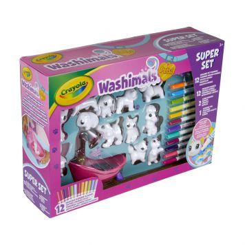 Crayola Washimals Deluxe Play Set