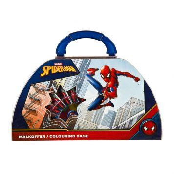 Spider-Man Kleurkoffer 51-Delig