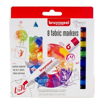 Textiel Stiften 8 Stuks