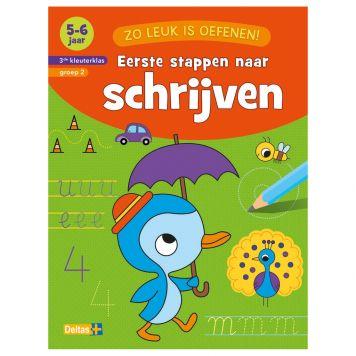 Boek Zo Leuk Is Oefenen - Eerste Stappen Naar Schrijven (5-6 jaar)