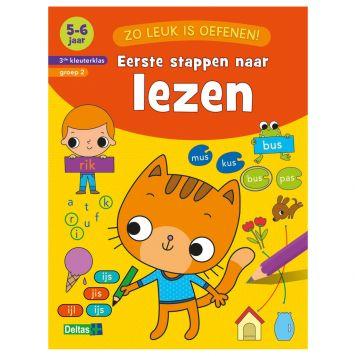 Boek Zo Leuk Is Oefenen - Eerste stappen naar  lezen (5-6 jaar)