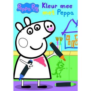 Boek Kleur Mee Met Peppa