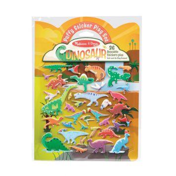 Dino Stickers Puffy 36 Stuks