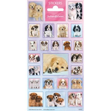 Stickers Schattige Hondjes