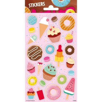 Stickers Donuts, IJsjes & Cupcakes Twinkle