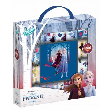 Frozen 2 Stickerbox 1000 Totum