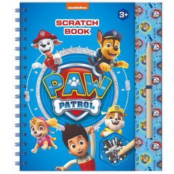 Paw Patrol Scratch Boek Totum