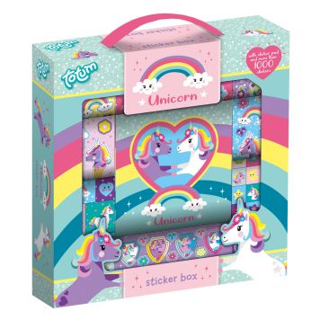 Totum Unicorn Stickerbox 1000 Stickers