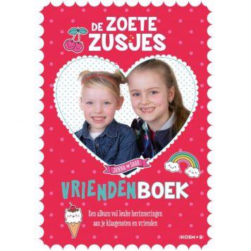 Boek Zoete Zusjes Vriendenboek