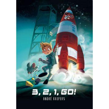 Boek 3 2 1 Go! En De Kleine Astronaut