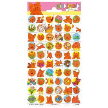 Stickers Dikkie Dik